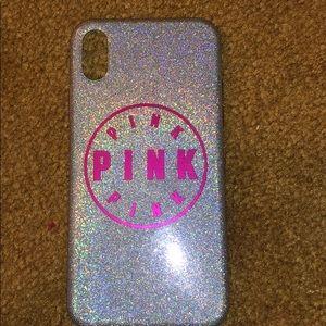 Pink IphoneX case